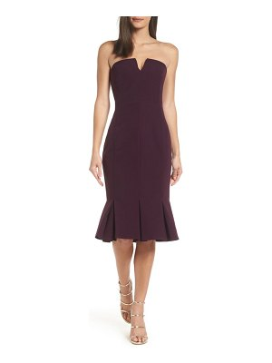 Adelyn Rae alexis strapless dress