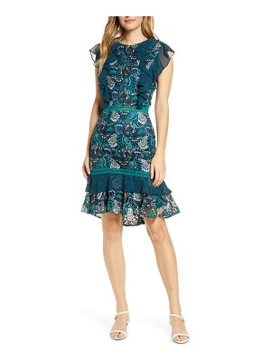 Adelyn Rae annie lace cocktail dress