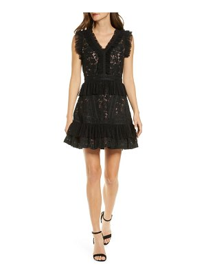 Adelyn Rae deven lace cocktail dress