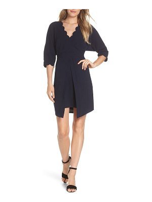 Adelyn Rae emerata scallop edge dress