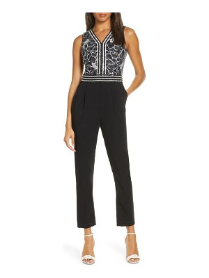 Adelyn Rae jacey lace jumpsuit