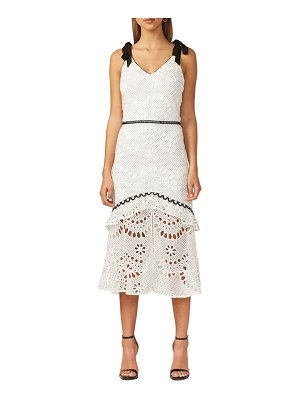 Adelyn Rae may embroidered midi sundress