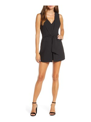 Adelyn Rae mia layered look cocktail romper