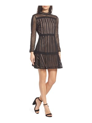 Adelyn Rae naia lace sheath dress