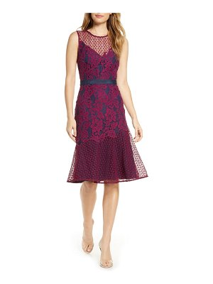 Adelyn Rae sonya floral lace cocktail dress