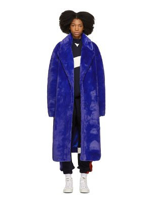 Ader Error Oversized Faux-fur Coat