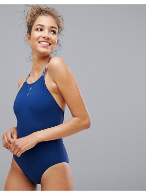 Adidas adidas Parley Swimsuit In Navy