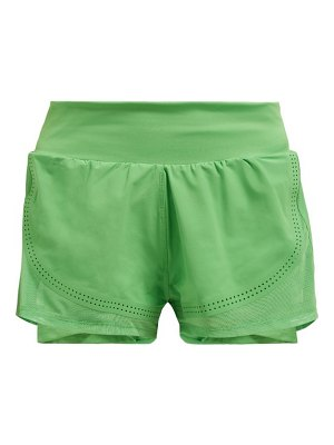 adidas by Stella McCartney double layer stretch shorts