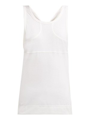 adidas by Stella McCartney fitted jersey tank top