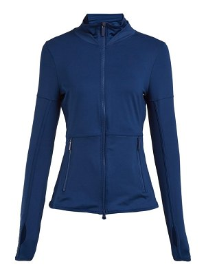 adidas by Stella McCartney essential mesh panel performance jacket