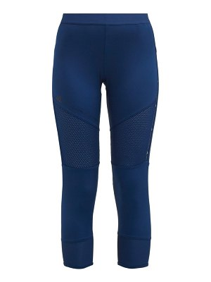 adidas by Stella McCartney the run mesh panel performance leggings