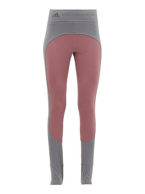 adidas by Stella McCartney comfort two tone stirrup ankle leggings
