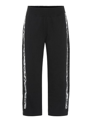 adidas by Stella McCartney cropped cotton trackpants