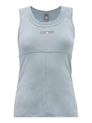 adidas by Stella McCartney cut out back training tank top