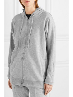 adidas by Stella McCartney essentials french cotton-blend terry hoodie
