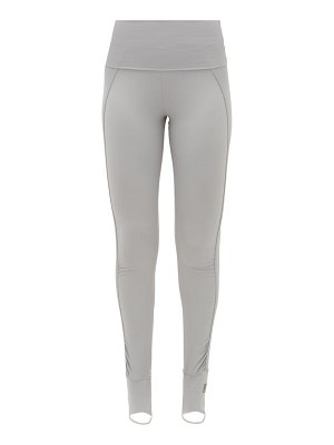 adidas by Stella McCartney foldover-waist stirrup leggings