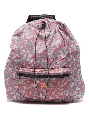 adidas by Stella McCartney gymsack camouflage shell backpack