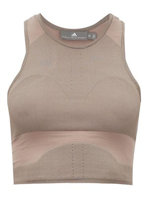 adidas by Stella McCartney low-impact stretch-knit sports bra