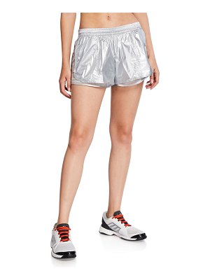 adidas by Stella McCartney Metallic Running Shorts