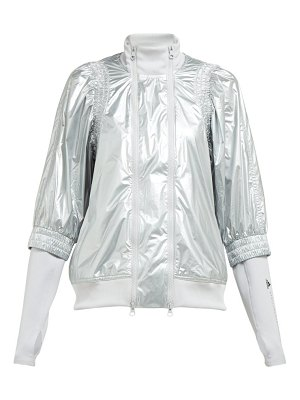adidas by Stella McCartney metallic shell performance jacket