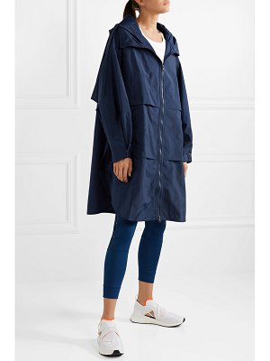 adidas by Stella McCartney oversized shell hooded parka