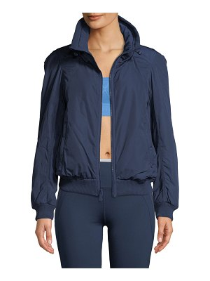 adidas by Stella McCartney Padded Zip-Front Short Training Jacket