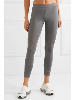 adidas by Stella McCartney parley for the oceans essentials mesh-paneled stretch leggings