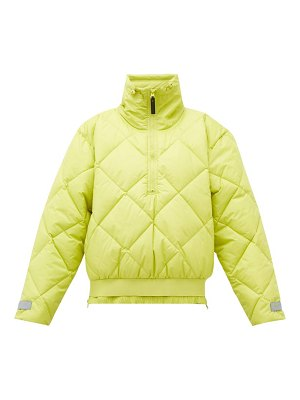 adidas by Stella McCartney quilted shell bomber jacket