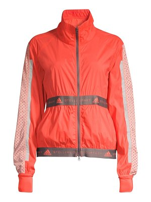 adidas by Stella McCartney run light colorblock jacket