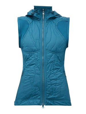 adidas by Stella McCartney run quilted-shell gilet