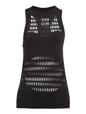 adidas by Stella McCartney warp laser cut performance tank top