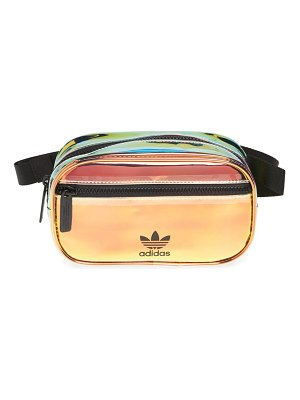 Adidas ori holographic clear belt bag