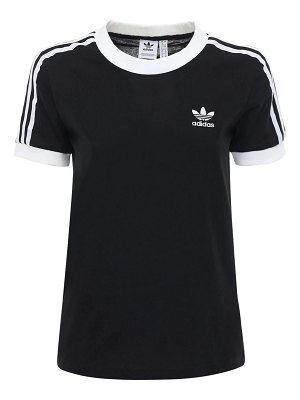 adidas Originals 3 stripes cotton t-shirt