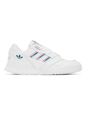 adidas Originals and pink a.r. trainer sneakers