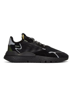 adidas Originals black nite jogger sneakers