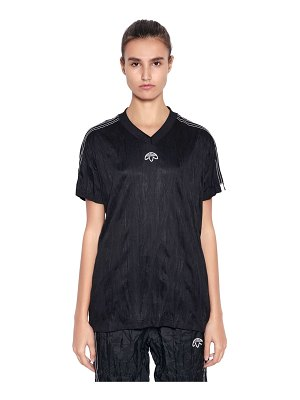 adidas Originals by Alexander Wang Aw oversized wrinkled jacquard t-shirt