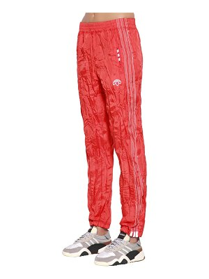 adidas Originals by Alexander Wang Aw wrinkled tear away track pants