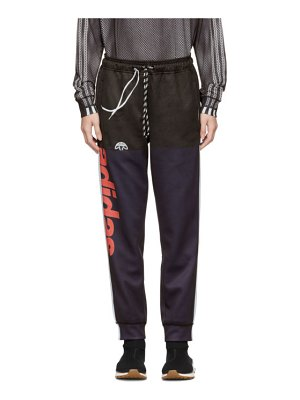 adidas Originals by Alexander Wang navy and black photocopy lounge pants