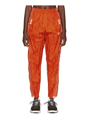 adidas Originals by Alexander Wang red adibreak lounge pants