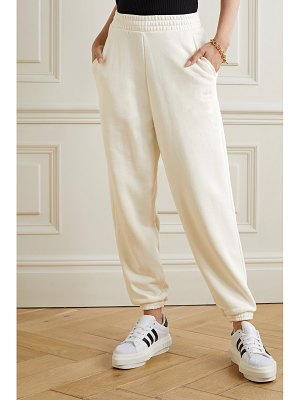 adidas Originals cotton-jersey track pants