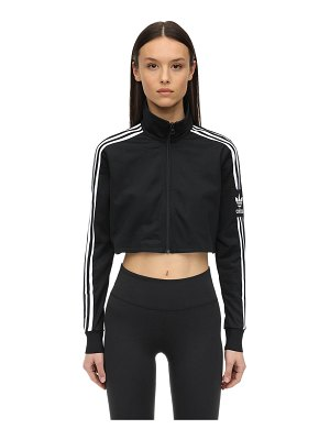 adidas Originals Cropped acetate track top