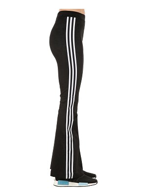 adidas Originals Flared cotton blend track pants