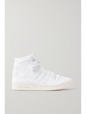adidas Originals forum 84 smooth and patent-leather high-top sneakers