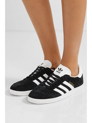 adidas Originals gazelle suede and leather sneakers