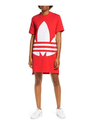 adidas Originals large logo t-shirt dress