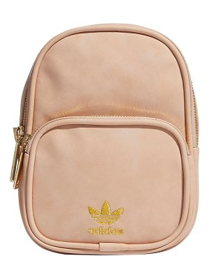 adidas Originals mini faux leather backpack