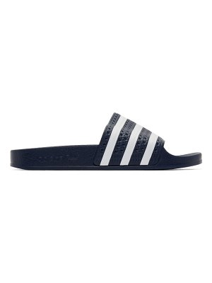 adidas Originals navy adilette sandals