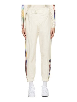 adidas Originals off- paolina russo edition striped track pants