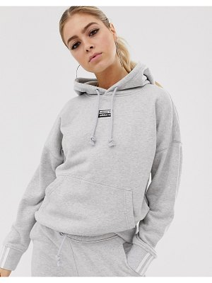 adidas Originals ryv hoodie in gray