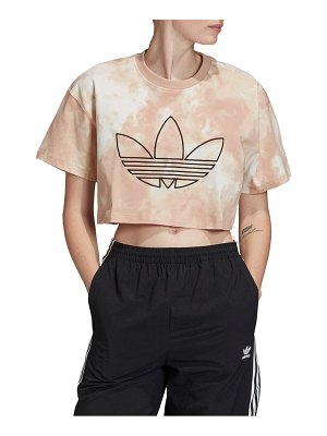 adidas Originals trefoil crop t-shirt